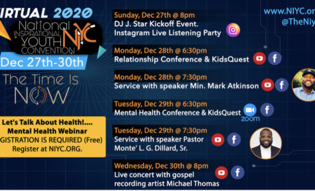 National Inspirational Youth Convention (December 27-30th, 2020)