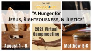 2021 Camp Meeting Details